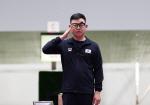 김모세, 男 10m 공기권총 결선 8위