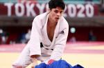 유도 60kg 김원진, 메달 획득 실패