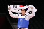 인교돈, 도쿄올림픽 태권도 마지막 날 중량급 동메달