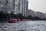 중국 폭우에 바다로 변한 허난성