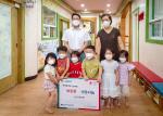 금곡동 창의글로벌어린이집, 아이들의 따뜻한 마음을 전달하다