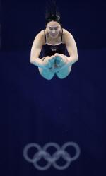 김수지, 한국 여자 다이빙 선수 최초 올림픽 준결승행