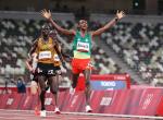 에티오피아 바레가, 올림픽 육상 1만 m 깜짝 金