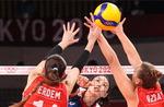 터키도 꺾은 여자 배구, 45년 만의 메달 보인다