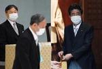 아베가 하던 말 그대로…스가, 일본 가해 책임 언급 없어