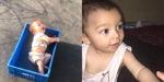 카불공항에 홀로 남겨진 아기
