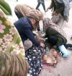 """탈레반 """"여성 인권 존중"""" 하루 만에 부르카 미착용 여성 총 맞아 숨져"""