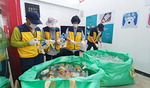 폐플라스틱을 이불로…부산發 친환경 캠페인 수도권 전파