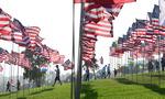 미국 9·11테러 20주기 희생자 추모 물결