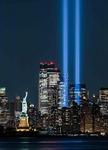 9·11 테러  20주년…뉴욕 밤하늘 희생자 기리다