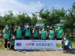 동삼1동 새마을단체 농촌일손돕기