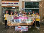해운대구 좌4동 적십자봉사회·지역사회보장협의체,'오감만족 수제빵' 나눔