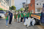 화명2동 자율방재단, 추석맞이 도시환경정비 실시