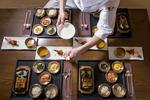 호텔 농심 한식당, '연·리·지' 코스 선봬