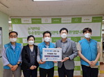 K-water 부산권지사, 사하사랑나눔푸드마켓에 식품 및 생필품 지원