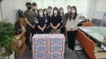 경남정보대 총학생회, 사상구보건소 감사 방문