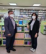 다대2동 주민자치위원회, 두송작은도서관 도서 기증