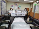 부산 중구 대청동 복병산 행복마을 주민협의회, 후원물품 전달