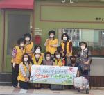 영선2동 자원봉사캠프, 명절 폐식용유 자원순환으로 환경보호실천