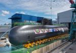 해군 세 번째 3000t급 잠수함 신채호함 진수