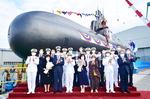 한국 세 번째 3000t급 잠수함 '신채호함' 진수