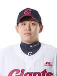 롯데 외야수 김재유, 무릎 부상 시즌 마감