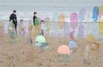 일광해수욕장서 즐기는 바다미술제