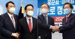 '깐부' 찾는 야당 주자들…윤석열은 주호영, 홍준표는 최재형 영입